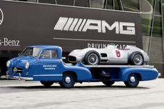 Mercedes Renntransporter: the truck carrying the silver arrows was equally special | Most Reliable Car Brands