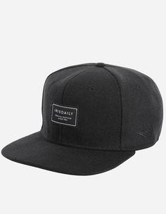 iriedaily - Lug Snapback black