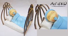 baby shower, bebe dormido pastel cuna, bebe pasta flexible ojos cerrados.