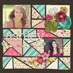 layout by marlathrall Piecemaker by Zoliofrope A Fresh Start by Zoe Pearn & Digital Scrapbook Ingredients - sweetshoppedesigns scrapbook layout