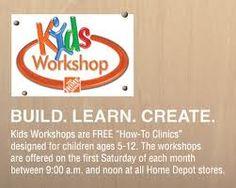 Free Kids Workshops at Home Depot