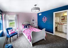 Veridian Homes - The Maybeck SS, Silver Spring Estates Furnished Model, Little Girls Bedroom