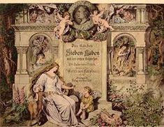 Das Goethezeitportal: Moritz von Schwind Moritz Von Schwind, Brothers Grimm Fairy Tales, Rabe, Pretty Pictures, Red Roses, Art Nouveau, Vintage World Maps, Images, Painting