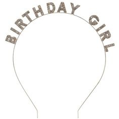 Charlotte Russe Birthday Girl Headband ($6.99) ❤ liked on Polyvore featuring accessories, hair accessories, rose gold, charlotte russe, embellished headband, head wrap headband, head wrap hair accessories and hair band accessories