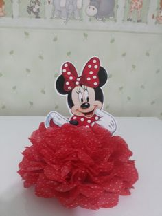 Mickey Mouse Theme Party, Mickey Mouse Birthday Decorations, Disney Christmas Decorations, Minnie Mouse First Birthday, Mouse Crafts, Marie, Baby, Ideas, Minnie Mouse Decorations