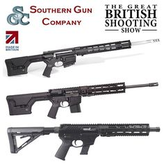 Southern Gun Company. Builders of high quality custom specification rifles. Be sure to see Southern Gun Company at The Great British Shooting Show 2017. Buy your tickets online now Shootingshow.co.uk or call the tickets hotline 44 (0) 1258 858448 #southern #gun #company #custom #builders #rifles #optics #guncases #magazines #muzzlebrakes #grips #shooting #servicing #repairs #BritishShootingShow #ShootingShow #BSS17