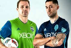 Seattle Sounders 2016 adidas Home and Third Jerseys
