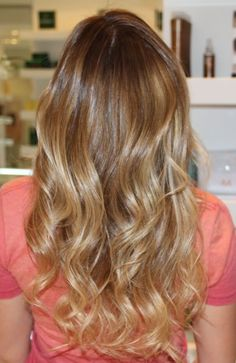 Box No. 216- sun-kissed hair this is the color I want!!!!!!