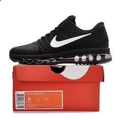 d60590b93610b Nike Air Max 2017 Women Men Black Shoes have a high quaity with memorable  meaning.Nike Air Max 2017 awesome appearance well tells the spirit of sports  and ...