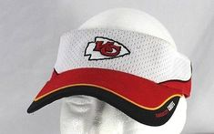 daf86546f990a Details about NFL Kansas City Chiefs KC Red White Flat Bill Snapback Hat Cap  Constructed