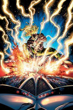 Aquaman - Black Mantra by Robson Rocha and Jason Paz, colours by Alex Sinclair * Comic Book Characters, Comic Books Art, Comic Art, Book Art, Marvel Dc, Marvel Comics, Alternative Comics, Brian Michael Bendis, Black Manta