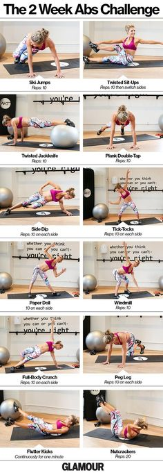 See more here ► https://www.youtube.com/watch?v=xctKmmiYuKo Tags: how to lose weight fast for free in a week, 2 week water fast weight loss, - Take our ab challenge! We love these exercises for getting a strong core.