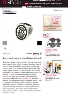 Articolo di #TUstyle sulla collezione #anellidiSaturno di #SaturninoCelani e #FirstPeopleFirst . Parte dei profitto verrà devoluto alla #fondazione #onlus #ilPiccoloPrincipe per la #tuteladelminore . #anello #argento #925 #fattoamano #Italia #gioielli
