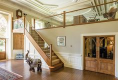 Neville Johnson has over 30 years' in creating innovative fitted furniture. We have stunning collections of fitted furniture and staircase renovations. Luxury Staircase, Bespoke Staircases, New Staircase, Staircase Railings, Wooden Staircases, Staircase Design, Staircase Ideas, Hallway Ideas, Stairways