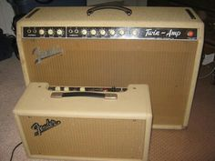 White Fender Twin.