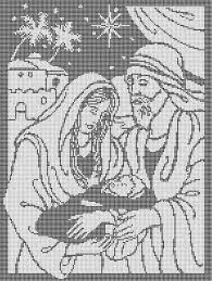 """Résultat de recherche d'images pour """"THE HOLY FAMILY IN CROSS STITCH"""" Cross Stitch Designs, Cross Stitch Patterns, Holy Family, Diy Christmas Ornaments, Loom Beading, Sewing Clothes, Holi, Kids Rugs, Embroidery"""