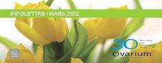 Ovarium: infolettre de Mars 2012 rabais 30ème anniversaire moitié prix sur bain flottant, Pulsar et NeuroSpa débutant le 13 mars 2012  ///  Certaines conditions s'appliquent voir le détails sur le blog du spa ovarium >>> http://www.ovarium.com/blog/2012/03/01/30eme-anniversaire-rabais-surprise/