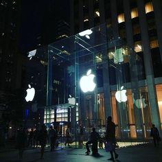 Check . #AppleStore #NYC
