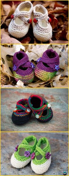 Knit Saartje's Bootees Free Pattern - Knit Slippers Booties Free Patterns