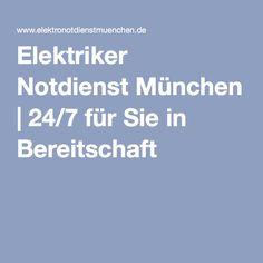 Elektriker Notdienst München | 24/7 für Sie in Bereitschaft