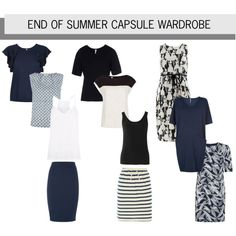 End of Summer Capsule Wardrobe