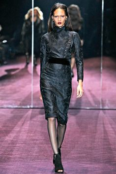 Gucci Fall 2012 Ready-to-Wear Fashion Show - Joan Smalls