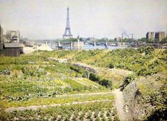 Beautiful vintage photographs of the City of Light in 1914