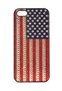 American Flag Phone Case | FOREVER21 - 1000067577