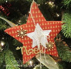 Many Merry Stars Simply Created kit - make 26 stars of various sizes as ornaments or home decor!