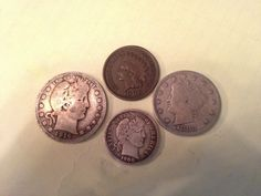 Some of my old American coins