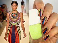 Fashion Friday Nails - Mara Hoffman