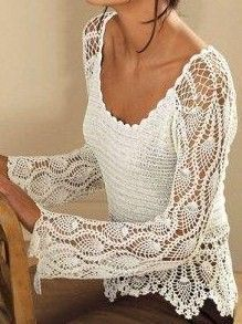 Crochet top PATTERN, detailed tutorial in ENGLISH (every row) designer crochet sweater pattern PDF, Eternal Sunshine Creations tunic pattern Boho Crochet, Pull Crochet, Beach Crochet, Crochet Crop Top, Crochet Blouse, Crochet Shawl, Crochet Jacket Pattern, Crochet Poncho Patterns, Top Pattern