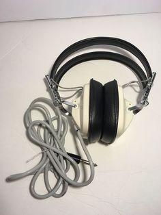 Vintage Sansui Headphones Model s 22 White Excellent Condition | eBay