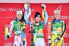 SL CRANS-Montana 15-Feb-2016 1.Mikaela Shiffrin 2.Nastasia Noens 3.Marie-Michèle Gagnon +0,50 4.Bernadette Schild BZ im 2.Lauf !! 9.Wendy Holdener +1,17