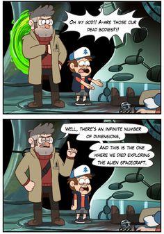An Unofficial AU Blog for the Gravity Falls Fandom