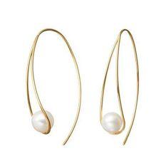 Pearl earrings More