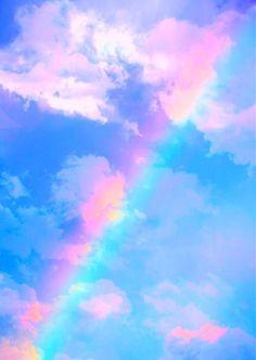 O mundo é colorido para um coração repleto de AMOR!   Todo colorido...