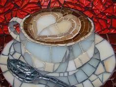Cub of coffee in mosaic lori desormeaux is the best