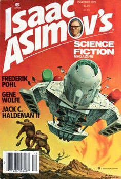 ALEX SCHOMBURG - Dec 1979 Isaac Asimov's Science Fiction Magazine