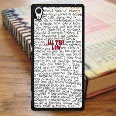 All Time Low Art Music Qoutes Sony Experia Z4 Case