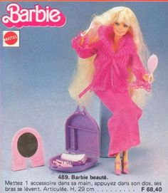 1980 Beauty Secrets Barbie. This is the one I still have (and her case and all its accessories!)