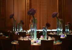 Real wedding at the Jonathan Club in Downtown Los Angeles. By Moments By Wayne. Photography by Mi Belle