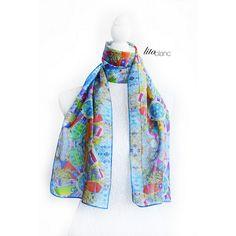 Foulard + Lita Blanc http://www.alittlemarket.com/boutique/lita_blanc-34641.html