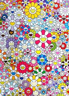 TAKASHI MURAKAMI | Homage To Klein (Multicolor D)