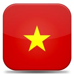 Bandeira Vietname.#JORGENCA