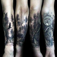 43 Best Nature Tattoo Sleeve Images Tattoo Artists First Tattoo