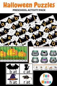 Halloween Puzzles Pr