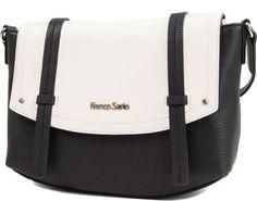 Franco Sarto KIMBERLY FLAP Franco Sarto, Minimal Fashion, Gym Bag, Black And White, Chic, My Style, Metal, Leather, Bags
