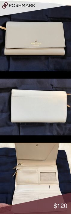 """Kate Spade Phoenix NWOT. Phoenix Mikas pond travel wallet. Perfect condition- no flaws Size is approximately 8"""" x 4"""". kate spade Bags Wallets"""