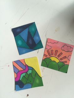Cute little drawings with sharpies